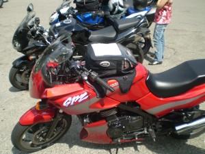 Le nostre moto sul Passo Penice