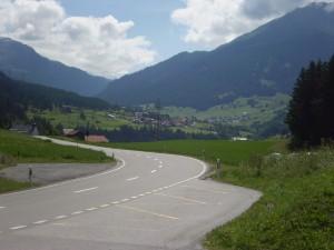 Strada extraurbana 3 in Svizzera, non ricordo dove esattamente