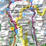 Mappa San Bernardino e Spluga
